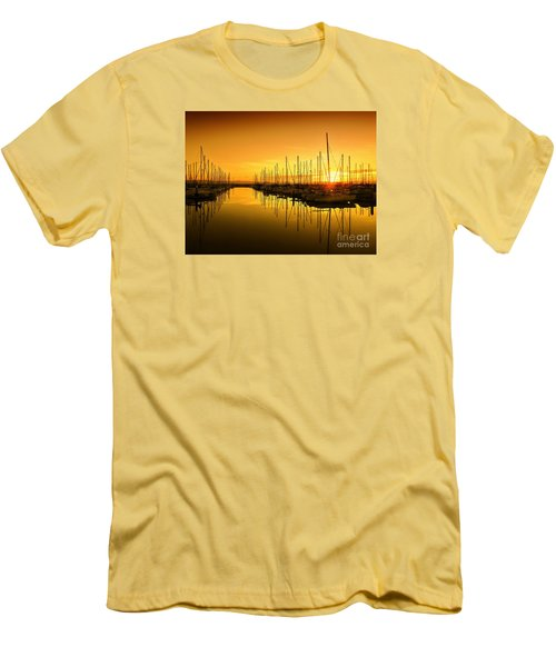 The Marina Men's T-Shirt (Slim Fit) by Scott Cameron