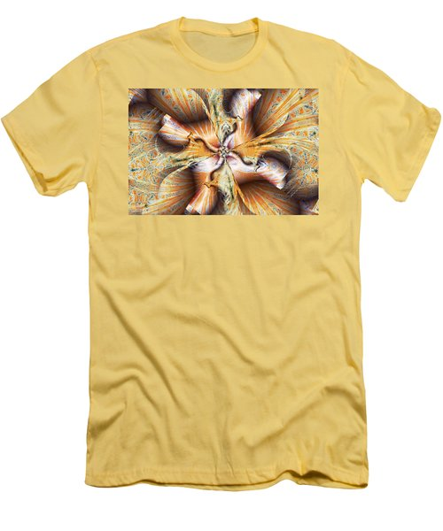 Toffee Pull Men's T-Shirt (Slim Fit) by Jim Pavelle