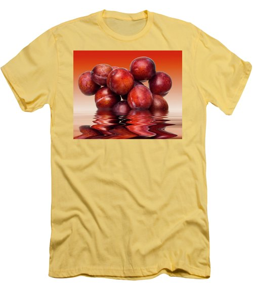 Victoria Plums Men's T-Shirt (Slim Fit) by David French
