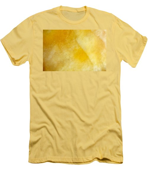 Men's T-Shirt (Slim Fit) featuring the photograph Yellow by Corinne Rhode