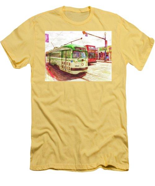 1050 Men's T-Shirt (Slim Fit) by Michael Cleere