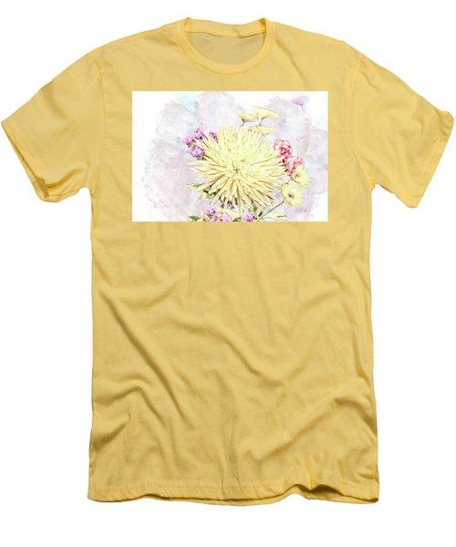10865 Spring Bouquet Men's T-Shirt (Athletic Fit)