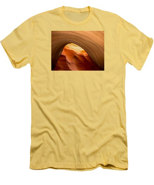 Lower Antelope Canyon Navajo Tribal Park #12 Men's T-Shirt (Athletic Fit)