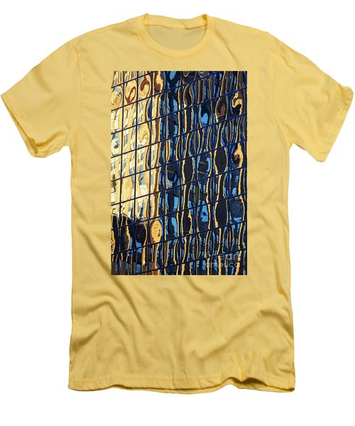 Abstract Reflection Men's T-Shirt (Slim Fit) by Tony Cordoza