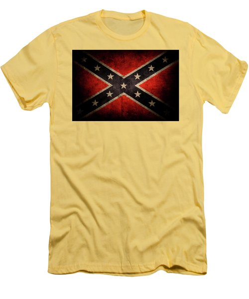 Confederate Flag Men's T-Shirt (Athletic Fit)