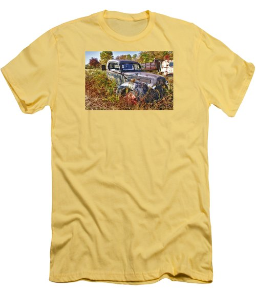 1941 Ford Truck Men's T-Shirt (Slim Fit) by Mark Allen