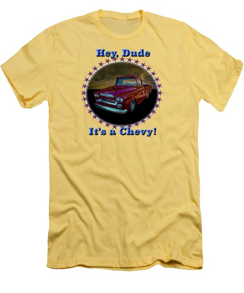 1959 Chevy Pickup Men's T-Shirt (Athletic Fit)
