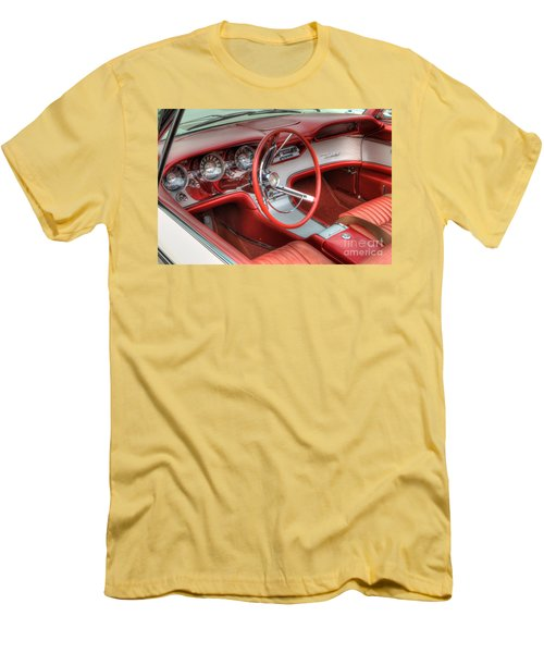 1962 Thunderbird Dash Men's T-Shirt (Slim Fit) by Jerry Fornarotto