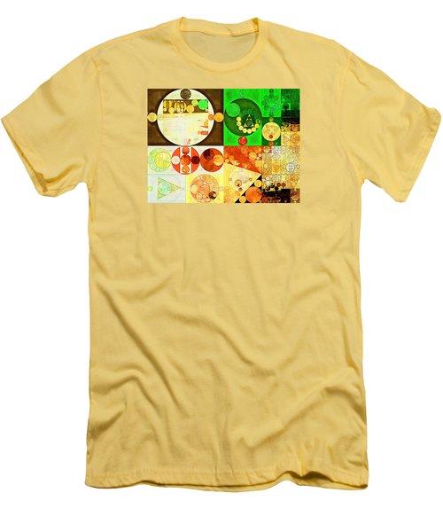 Abstract Painting - Kelly Green Men's T-Shirt (Slim Fit) by Vitaliy Gladkiy