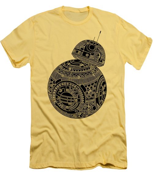 Bb8 Droid - Star Wars Art, Brown Men's T-Shirt (Athletic Fit)