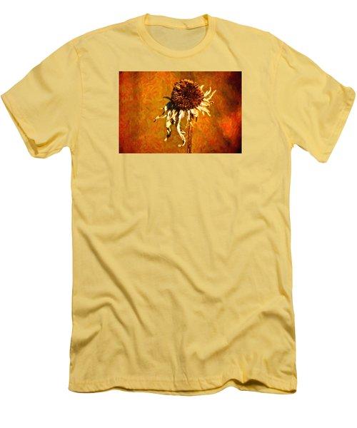 Dead Flower Men's T-Shirt (Slim Fit) by Andre Faubert