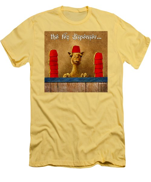 Fez Dispenser... Men's T-Shirt (Athletic Fit)