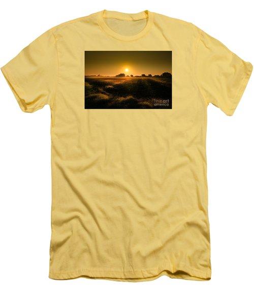 Foggy Morning Men's T-Shirt (Slim Fit) by Franziskus Pfleghart