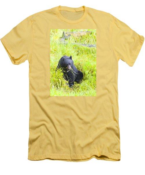 Got The Munchies Men's T-Shirt (Slim Fit) by Harold Piskiel