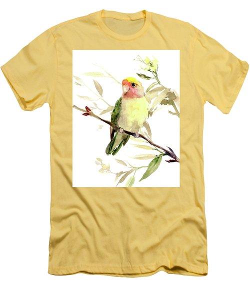 Lovebird Men's T-Shirt (Slim Fit)
