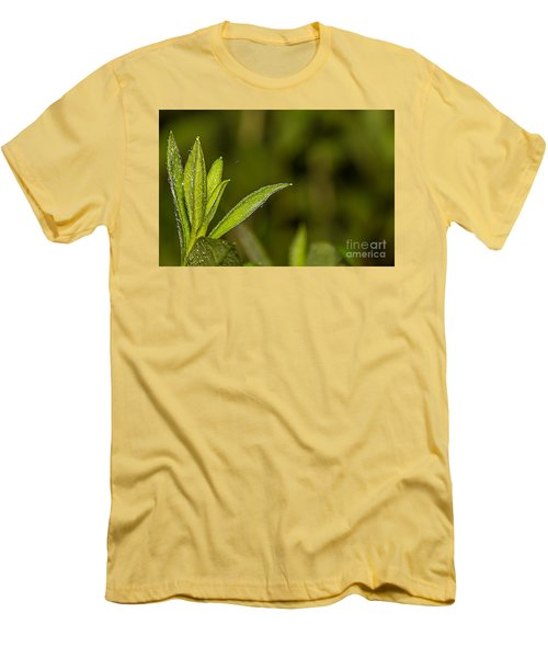 Men's T-Shirt (Slim Fit) featuring the photograph Tightrope by Brian Wright