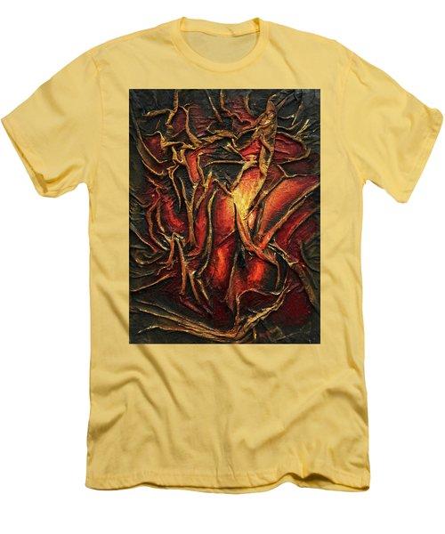 Passion Men's T-Shirt (Slim Fit) by Angela Stout