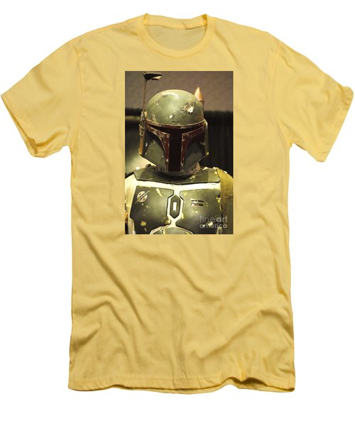 The Real Boba Fett Men's T-Shirt (Slim Fit) by Micah May