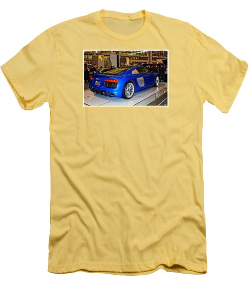 2016 Audi R8 Men's T-Shirt (Slim Fit) by Mike Martin