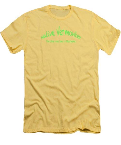 Native Vermonter Men's T-Shirt (Athletic Fit)