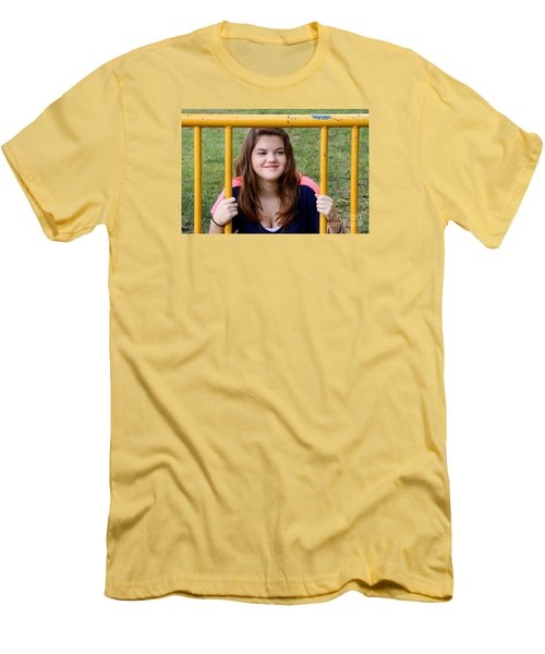 3524 Men's T-Shirt (Slim Fit) by Mark J Seefeldt