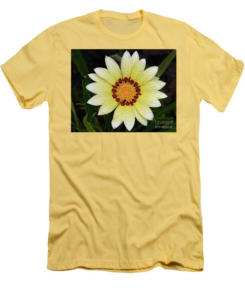 Nice Gazania Men's T-Shirt (Athletic Fit)
