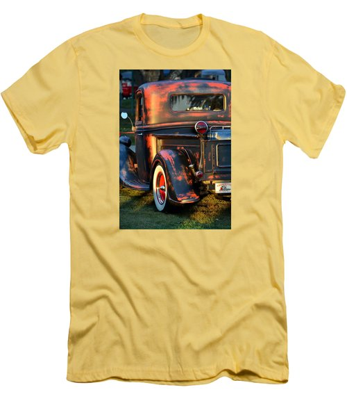 Classic Ford Pickup Men's T-Shirt (Slim Fit) by Dean Ferreira