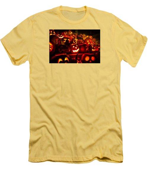 Pumpkinfest 2015 Men's T-Shirt (Slim Fit) by Robert Clifford