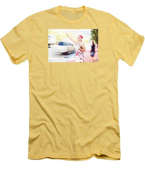 Vintage Val The Coral Hat Men's T-Shirt (Athletic Fit)