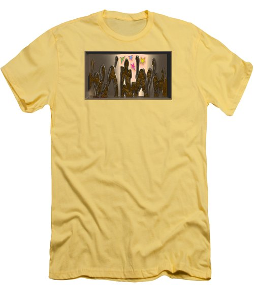 4th At Firesupportbase 54 Men's T-Shirt (Slim Fit)