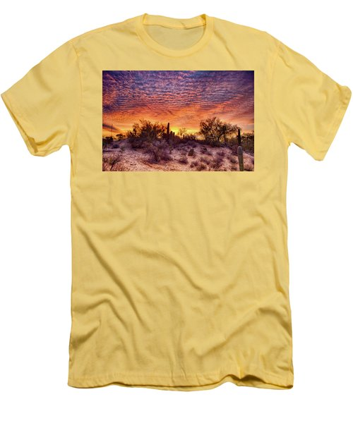 Arizona Sunrise Men's T-Shirt (Athletic Fit)