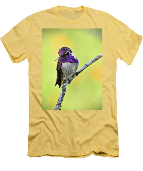 Costas Hummingbird  Men's T-Shirt (Athletic Fit)