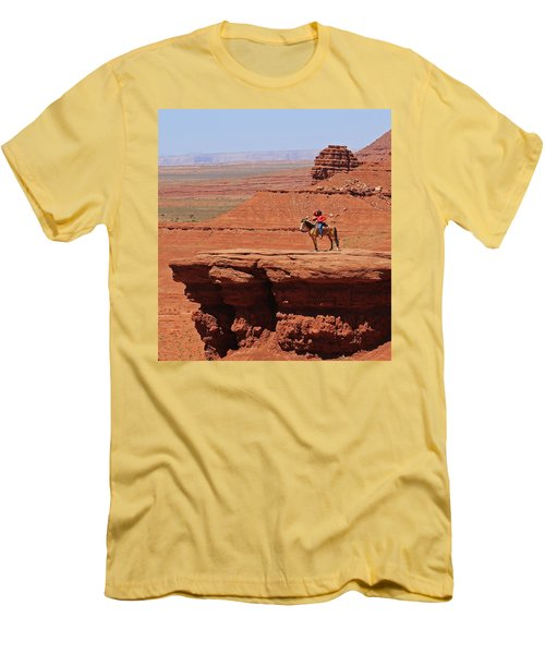 Grand Canyon Men's T-Shirt (Slim Fit) by Ronald Olivier