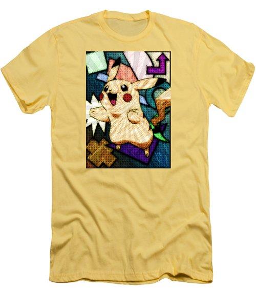 Pokemon - Pikachu Men's T-Shirt (Athletic Fit)