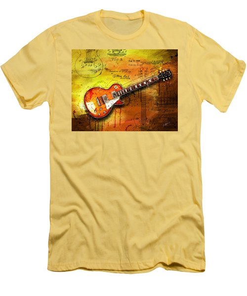 55 Sunburst Men's T-Shirt (Slim Fit) by Gary Bodnar