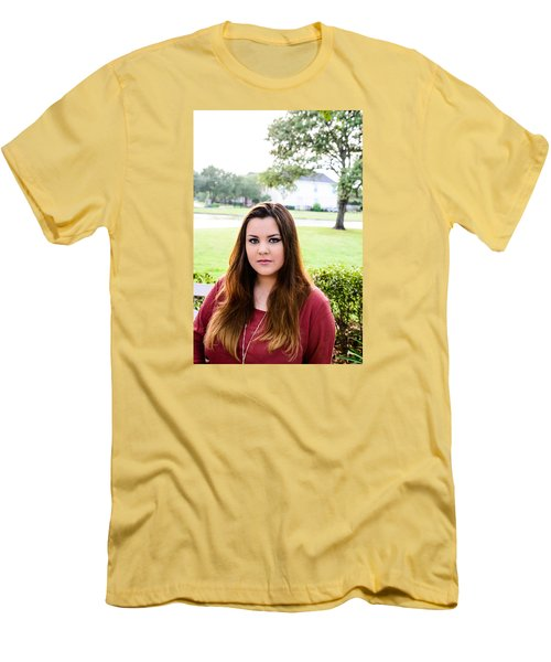 Men's T-Shirt (Slim Fit) featuring the photograph 5561-2 by Teresa Blanton