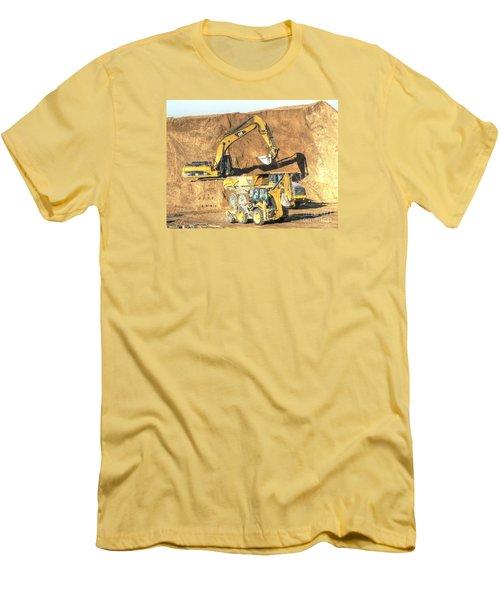 construction whsd Peterburg Men's T-Shirt (Slim Fit) by Yury Bashkin