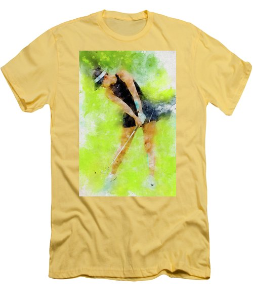 Michelle Wie Men's T-Shirt (Athletic Fit)