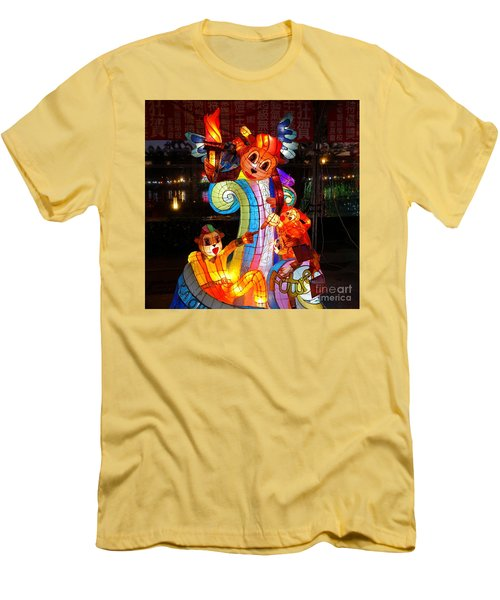 The 2016 Kaohsiung Lantern Festival Men's T-Shirt (Slim Fit)