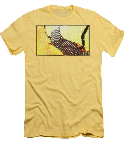 'a Barking Dog Never Smiles' Men's T-Shirt (Slim Fit)