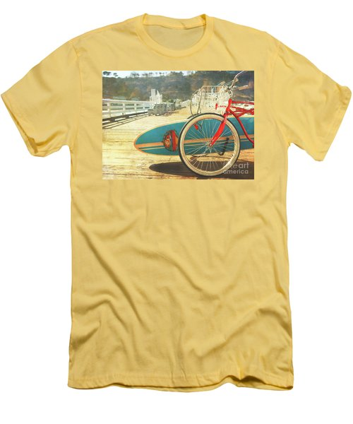 A California Postcard Men's T-Shirt (Athletic Fit)
