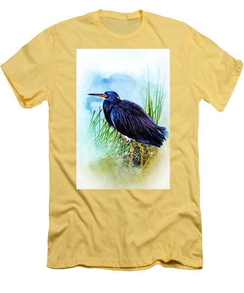 A Day In The Marsh Men's T-Shirt (Athletic Fit)