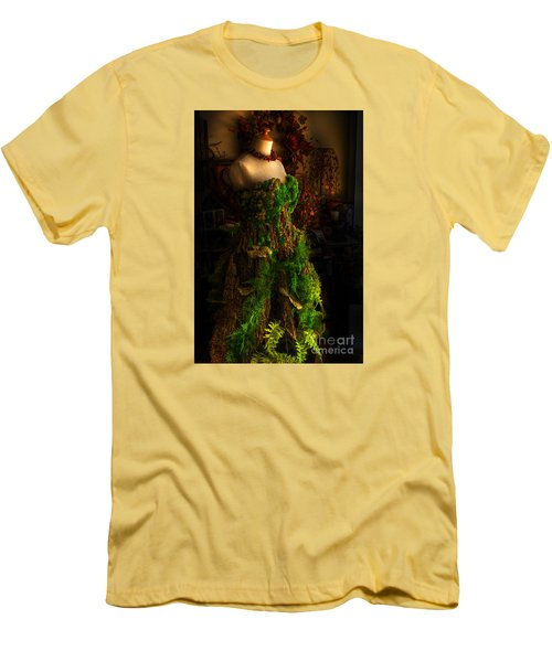 A Gown For A Faerie Princess Men's T-Shirt (Slim Fit) by William Fields