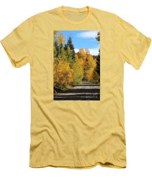 A Miraculous Autumn Vista Iv Men's T-Shirt (Athletic Fit)