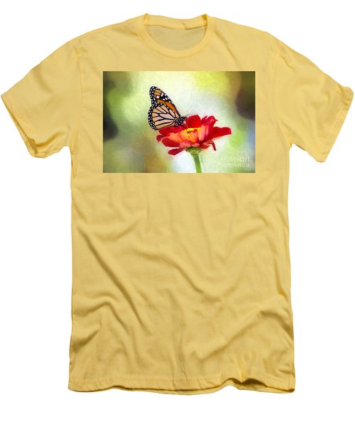 A Monarch Moment Men's T-Shirt (Athletic Fit)