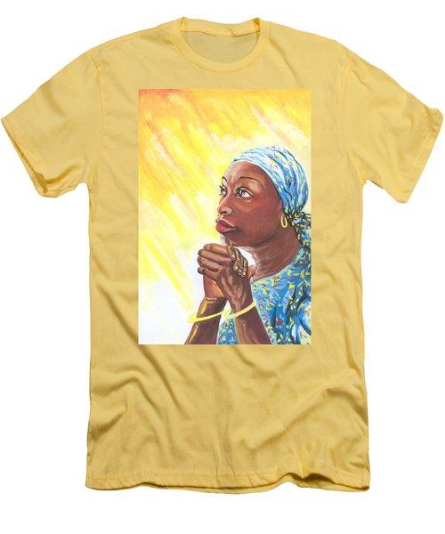 A Mothers Prayer Men's T-Shirt (Athletic Fit)