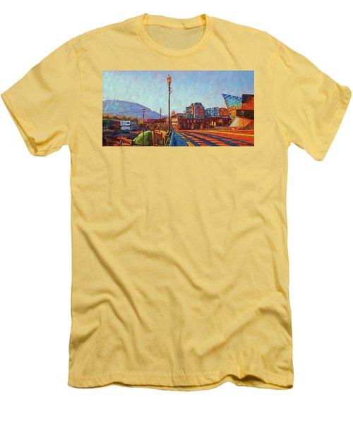 A New Day Men's T-Shirt (Slim Fit) by Bonnie Mason