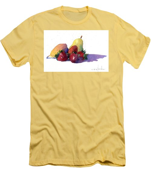 Still Life With Pears Men's T-Shirt (Athletic Fit)