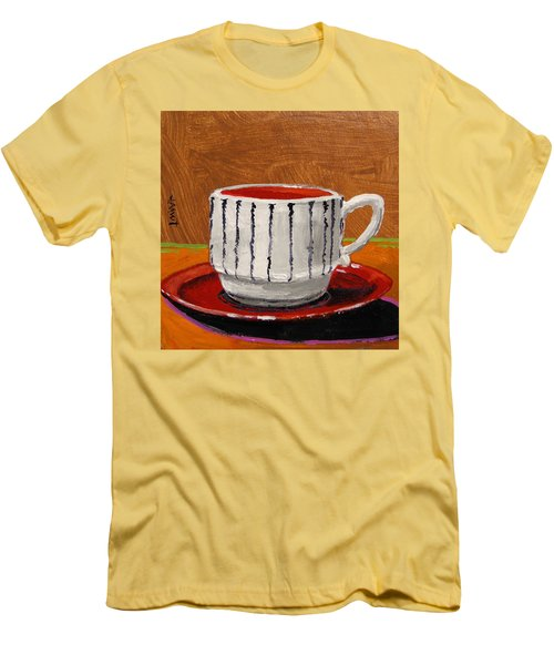 A Perfect Cup Men's T-Shirt (Slim Fit) by John Williams
