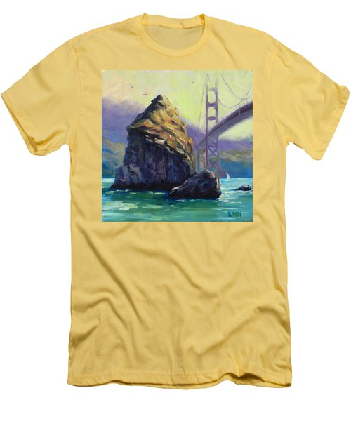 A Rock Men's T-Shirt (Athletic Fit)